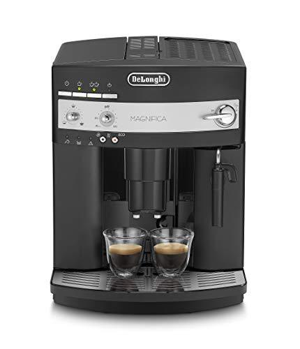 Machine à café automatique De Longhi ESAM3000, 1450 W, 2 tasses, 15 bars, plastique, noir, 37,5 x 28,5 x 36 cm