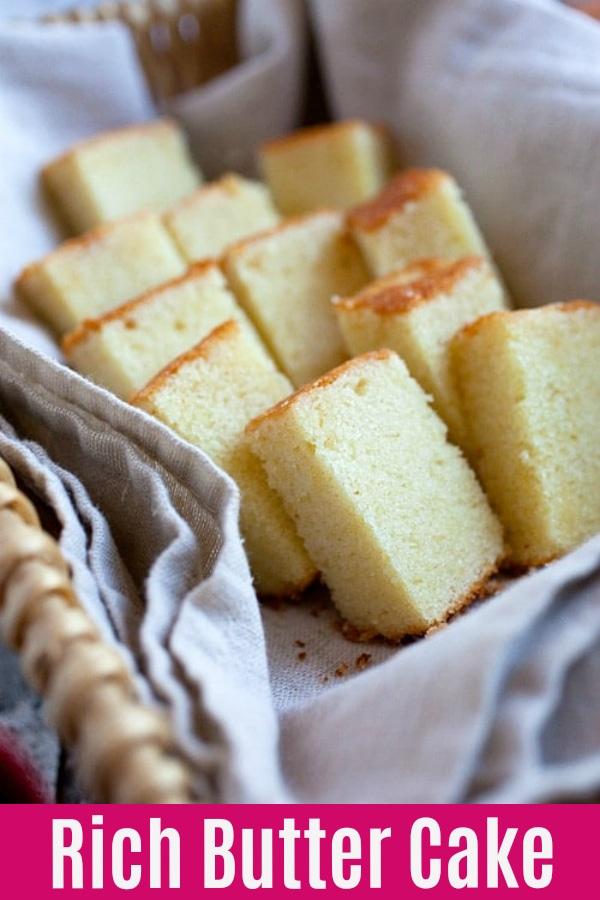 Gâteau au beurre - la MEILLEURE recette de gâteau au beurre que vous trouverez en ligne. Beurre fou, doux, riche, si moelleux et délicieux   rasamalaysia.com