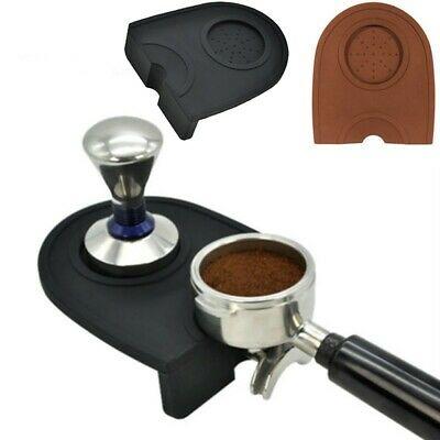 Support sûr de repos de café d'expresso d'art de tapis élastique en silicone