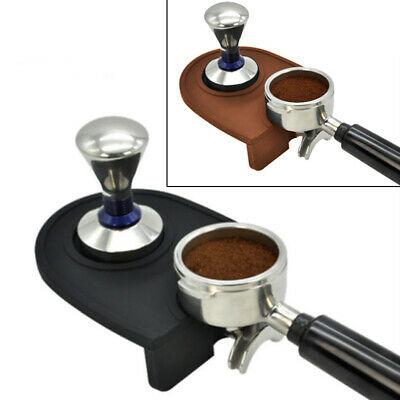1x Tapis de café en silicone pour la maison Espresso Latte Art Porte de stylo de bourrage