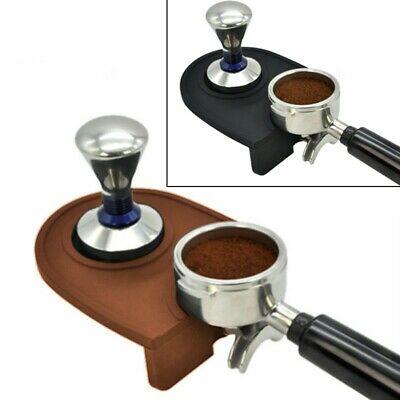 Tapis de bourrage en silicone café noir 5,9 11,9 cm support de repos de bourrage de lait