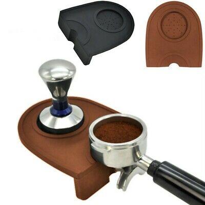 Tapis en silicone café 5.9 11.9cm Support de repos de bourrage d'art d'espresso de café