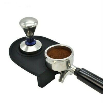 Tampon en silicone de support d'art de café au lait noir pour le tapis de remplacement d'expresso Au