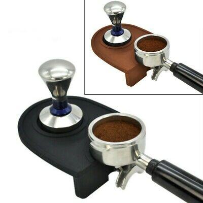 15 12cm Tapis en silicone Latte Art Bourrage Rest Support Safe Pad 1pcs